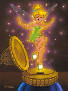 Fanciful Fairy 12x9 Original #disney #disneyart #art