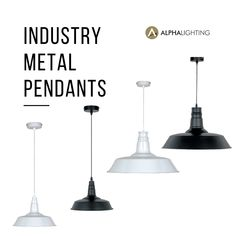 The industry pendants look great in kitchens or above breakfast bars, and are equally suited to cafe, restaurant of commercial premises too. The industry pendant range are available in two sizes, both of which come in either a Black Satin or Glossy White finish. Find out more about these great pendants online now by searching: Industry.  #Lighting #LightingTrends #HomeRenovation #lightinginspo #lightingideas #lightinginspiration #homedecor #modernmetalpendants #pendants #pendantlighting Breakfast Bars, Cafe Restaurant, Pendant Lights, Black Satin, Home Renovation, Searching, Kitchens, Commercial, Industrial