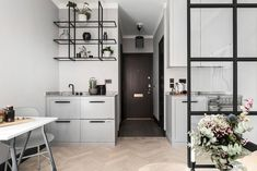 Do you love Scandinavian Kitchen Design? Discover in this post the top features about a Scandinavian style kitchen interiors and be inspired for your home design - ITALIANBARK + Bertazzoni Condo Interior, Kitchen Interior, Interior Design, Tiny Spaces, Small Apartments, Condo Design, House Design, Dining Room Design, Kitchen Design