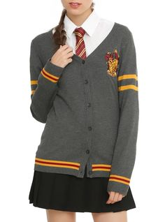Harry Potter Gryffindor Girls Cardigan | Hot Topic