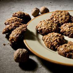 oatmeal cookies - Ciasteczka owsiane bez mąki Almond, Cookies, Food, Crack Crackers, Biscuits, Essen, Almond Joy, Meals, Cookie Recipes