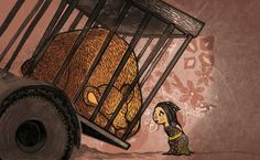 Another illustration of Django. The little girl Rumena wants to free Django. Little Girls, Fair Grounds, Illustration, Free, Toddler Girls, Baby Girls, Illustrations