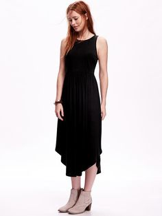 Jersey Midi Tank Dress Product Image