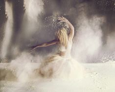 the flour explosion (now seen on Explore) by jen linfield photography, via Flickr
