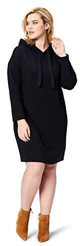 Daily Ritual Women's Plus Size Terry Cotton and Modal Sweatshirt Dress Tops For Leggings, Dresses With Leggings, Casual Party Dresses, Plus Size Winter, Winter Outfits Women, Sweatshirt Dress, Cut Jeans, Dresses Online, Plus Size Women