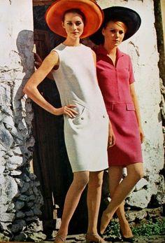 Summer fashion, Margriet (Dutch) April 1968