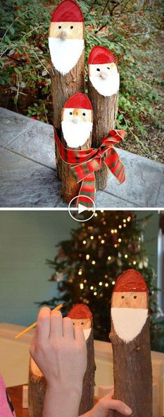 An outdoor Christmas decoration holds a special place in people's hearts. Christmas is an fancy event for lots of people throughout the world. For a lot of households, Christmas involves an substantial amount of decorating, both inside and outside. Christmas Hacks, Christmas Porch, Outdoor Christmas Decorations, Rustic Christmas, Christmas Art, Christmas Projects, Christmas Holidays, Homemade Christmas, Garden Decorations