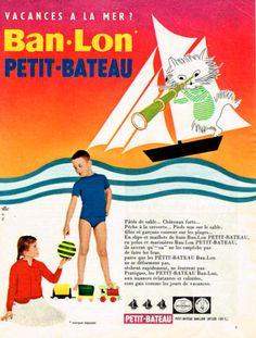 Ban-Lon Petit Bateau. Vacances à la mer?