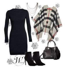 """Winter Getaway"" by medgurl ❤ liked on Polyvore featuring Charles David, Icebreaker, Burberry and Vince Camuto"