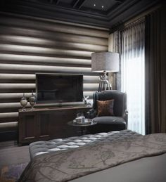 Warmth of a sophisticated bedroom