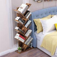 Tree Bookshelf, Bookshelves, Bedroom Bookshelf, Dream Rooms, Dream Bedroom, Master Bedroom, My New Room, My Room, Room Ideas Bedroom