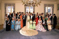 HH Princess Alexandra of Sayn-Wittgenstein-Berleburg and Count Jefferson von Pfeil und Klein-Ellguth  June 6, 1998  Gråsten Palace, Denmark