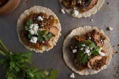 Chipotle Mushroom Tacos by Chez Us