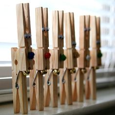 Reindeer peg Christmas crafts
