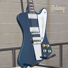 Sweeeet! #Gibson #Firebird V in Candy Apple Blue. #guitar