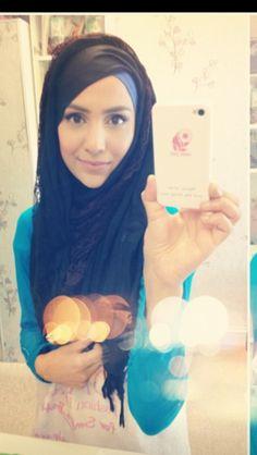 Amenakin: asymetric hijab style