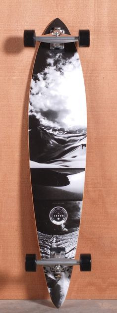 "My board!!!!! Love it perfect for crusin around Arbor 46"" Timeless Pin Walnut Longboard Complete"
