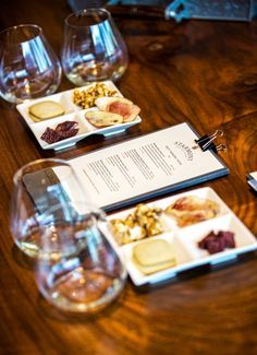 Food and wine tasting - starmont winery - visit stylishlyme.com to view more photos and read some tips on what to wear to Napa Valley in January