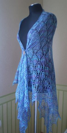 Dancing Damsels hand knitted gorgeous baby alpaca by KnitANDlace
