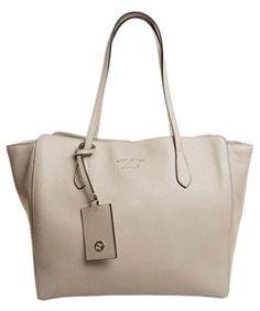 Gucci Swing Leather Tote Handbag