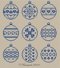 Gallery.ru / И снова шарики от Rosemarie - Новый год и Рождество_1/freebies - Jozephina