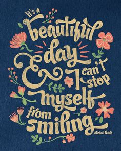 It's a Beautiful Day- Michael Buble