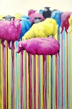 Campaign for Wool - I love this artistic sheep image. Designer Rugs are proud to use the beautiful natural fibre of wool in our products, this coming week is @Campaign for Wool week. If in Sydney, pop by their Edgecliff showroom to see their eye popping window display created by Steve Cordony / Stylist. http://www.designerrugs.com.au/