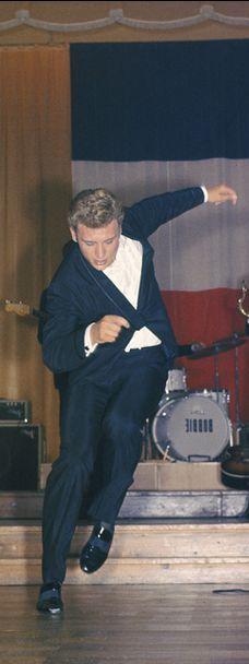 Johnny Hallyday, un géant sur scène