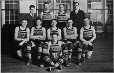 basketball team | New Bedford Textile School | New Bedford, Massachusetts, U.S.A. | photo: 1924 | school established 1899 | <3 <3 <3 the uniforms!