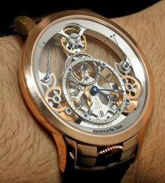 Luxury Watches For Mens : Arnold & Son Time Pyramid Watch Hands-On Amazing Watches, Beautiful Watches, Cool Watches, Army Watches, Fine Watches, Pocket Watches, Wrist Watches, Cartier, Omega