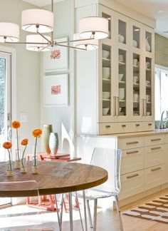 fixture + table + cabinetry
