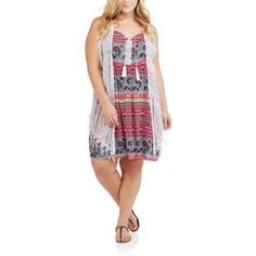 Plus size 2fer dresses for juniors