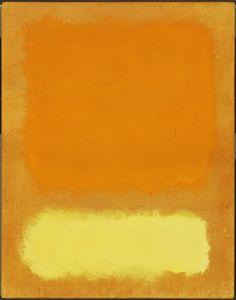 """roymtz: """"Untitled"""" Mark Rothko 1968"""