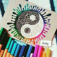 Zentangle Archives - Page 3 of 10 - Crafting Today Mandala Art, Mandala Drawing, Art Drawings Sketches, Cool Drawings, Pencil Drawings, Dragon Drawings, Dibujos Zentangle Art, Zentangles, Sharpie Art