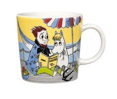 Arabia Moomin Mug Snorkmaiden and Poet / Niiskuneiti ja runoilija 2013 Moomin Shop, Moomin Mugs, Scandinavian Living, Scandinavian Design, Tove Jansson, Nordic Style, Mug Designs, Poet, Finland
