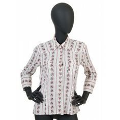 DKNY - white women shirt with flowers
