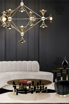 Combining the concept of art and design, these contemporary center tables are gorgeous in their own way, they can be the statement piece you've been looking for to add the finishing touch to your living room design. #coffeetabledesign #centertableideas #modernlivingroom #livingroomdecor #luxurylivingroom #millionairehome #luxuryapartment #insplosion #covethouse #bocadolobo Sophisticated Living Rooms, Elegant Living Room, Living Room Designs, Living Room Decor, Classic Rugs, Classic Style, Modern Coffee Tables, Contemporary Decor, Room Rugs