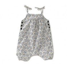 Navy Bird print romper for spring (yep, back into infant clothing lust mode!)