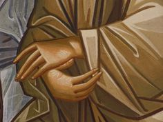 The Rich Classicism of Fr. Religious Icons, Religious Art, Greek Icons, Christian Paintings, Paint Icon, Russian Icons, Byzantine Icons, Painting Process, Orthodox Icons