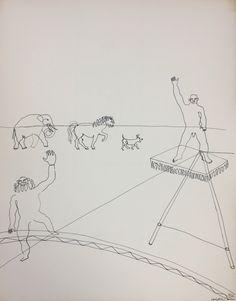 Alexander Calder Circus Drawings alexander calder - mad...