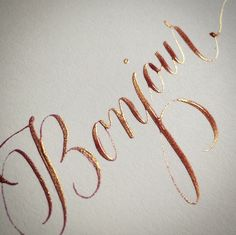 """""""I love using PearlEx Powder Pigment as ink for my pointed pen calligraphy."""" Here's how it's done!"""