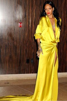Rihanna attends Clive Davis Pre-Grammy Party in Los Angeles