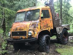 Mercedes Benz Unimog, Abandoned Cars, 4x4 Trucks, Monster Trucks, Vehicles, Model, Scale Model, Cars