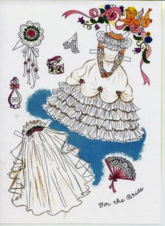 The Paper Doll Wedding by Hilda Miloche & Wilma Kane, Little Golden Activity Books #A22  (5 of 16)