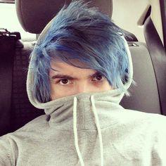 Blue hairs Kieran