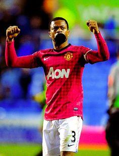 Patrice Evra, Manchester United FC.