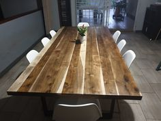 Dinner Table, Dining Tables, Rustic, Furniture, Design, Home Decor, Mesas, Dinning Table, Kitchen Dining Tables