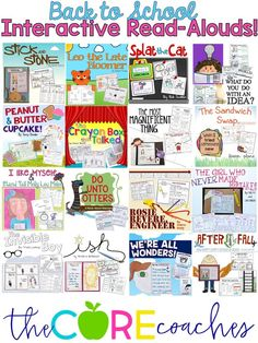 The best back to school read-alouds to create positive classroom climate