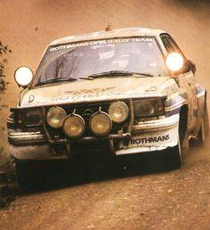 ra Opel Ascona 400 Rally Car 1982