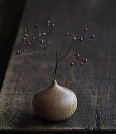 Onion Vase ┃ Takehito Ichikawa